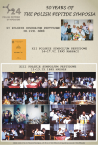 Polish Peptide Symposia 1991-1995