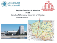 History of Peptide Research in Wrocław